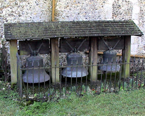 The three Quarley Church Bells