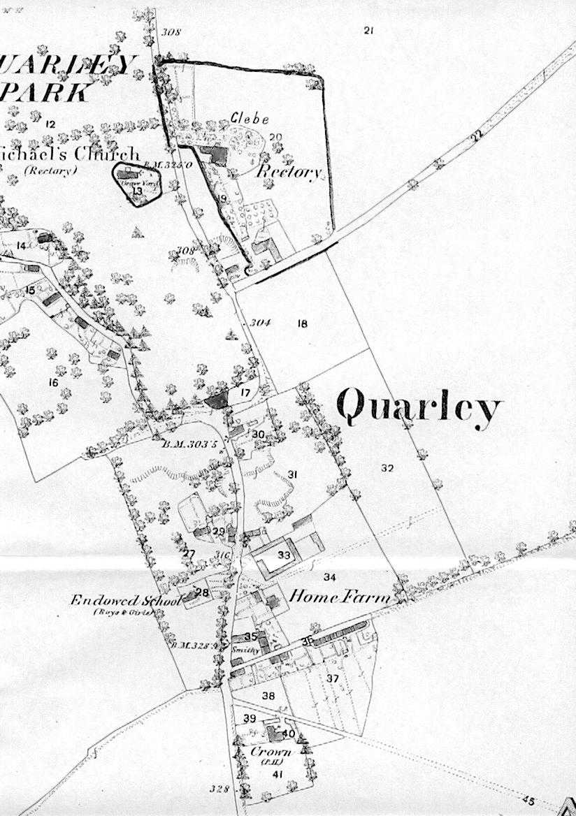 Quarley 1870 map